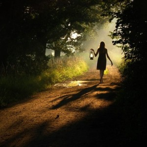 Choose Your Path And Walk Proudly…. Forest-pathj-girl-lantern-photography-favim-com-543244