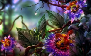 How beautiful will your new world look? Abstract-flowers-leaves-favim-com-481980