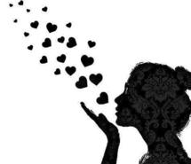 Consciously Creating… Kisses-with-hearts