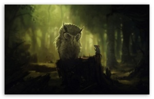 The wise owl and the mouse… Art-illustration-mouse-owl-favim-com-592899