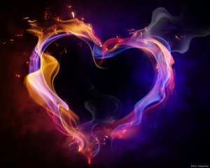 beauty-blue-colorful-fire-heart-Favim.com-272960