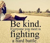 battle-be-kind-everyone-fighting-girl-251768