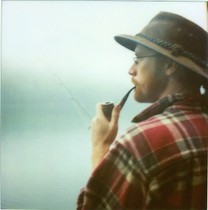 Tying Flies by RavensMoon Beard-boy-fishing-glasses-hat-pipe-favim-com-104379