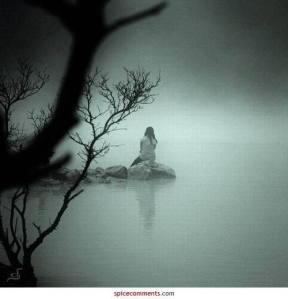 Deep Thinking… Alone-girl-lonely-ocean-rocks-favim-com-324928