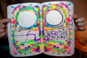 Outside The Lines… Book-circle-color-color-outside-the-line-favim-com-725917