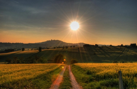 Follow The Light And You'll Get There… Mountains-road-sun-favim-com-789068