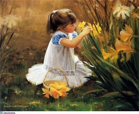 Becoming Sensitive Again… Art-paint-girl-flowers-beauty-favim-com-508817