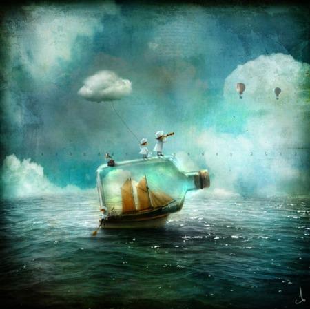 Understanding Part Of The Mission… Adorable-art-blue-boat-favim-com-695093